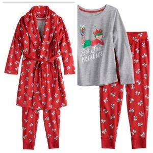 NWT Girl's 3 piece Sleepwear Set